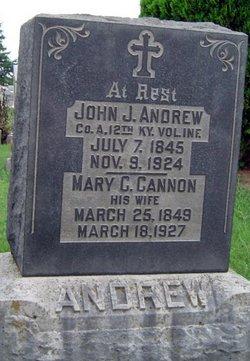 Mary C. <i>Cannon</i> Andrew