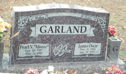 Pearl Vosie <i>Moore</i> Garland
