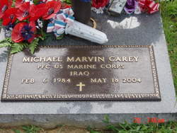 PFC Michael Marvin Carey