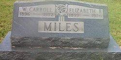 Elizabeth Jane <i>Barnes</i> Miles