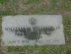 William Wallace Bill Williams, IV