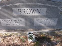 Lena May <i>Luce</i> Brown