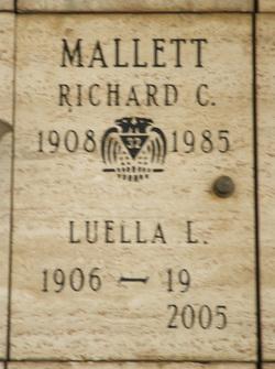 Richard Colton Dick Mallett