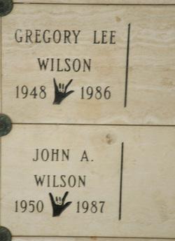 Gregory Lee Wilson