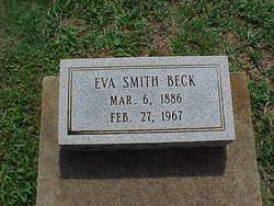 Eva <i>Smith</i> Beck