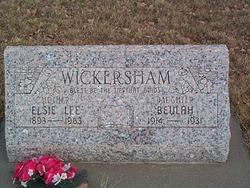 Elsie Lee Wickersham