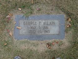 George Frank Allain