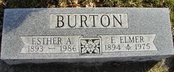 Esther A <i>Reene</i> Burton