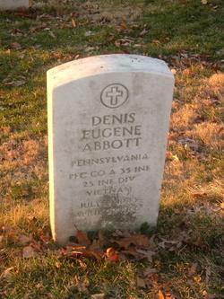 PFC Denis Eugene Abbott