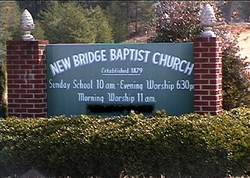 New Bridge Baptist Church Cemetery