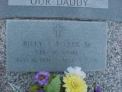 Corp Billy E. Boyer, Sr