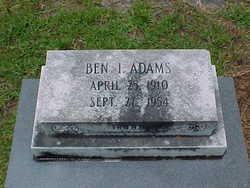Ben Ivey Adams, Sr