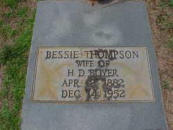 Bessie <i>Thompson</i> Boyer