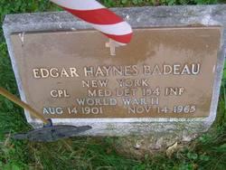 Edgar Haynes Badeau