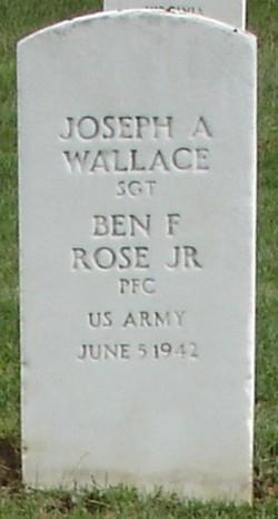 Pvt Ben F. Rose, Jr