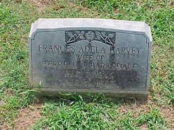 Frances Adela <i>Harvey</i> Barksdale