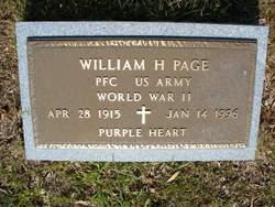 William H Page