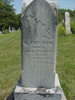 Mary L <i>Mickey</i> Custer