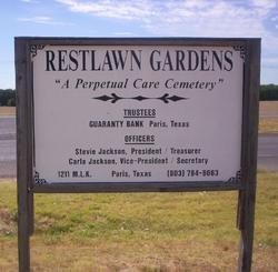 Restlawn Garden Cemetery