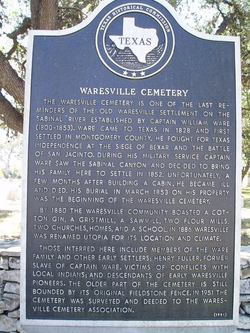 Waresville Cemetery