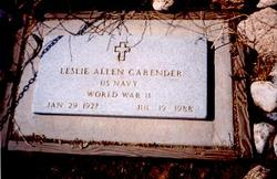 Leslie Allen Carrender