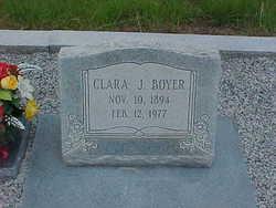 Clara <i>Jackson</i> Boyer