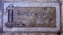 Beatrice <i>Willhelm</i> Steeves