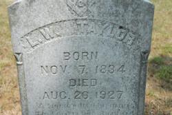 L. W. Taylor