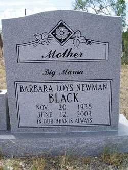 Barbara Loys Big Mama <i>Newman</i> Black