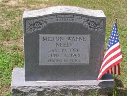 Milton Wayne Neely