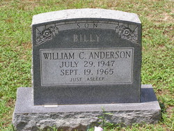 William C Billy Anderson