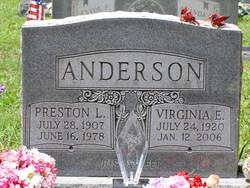 Preston L Anderson