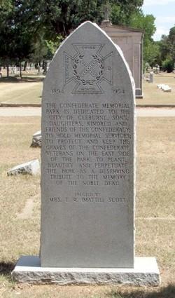 Cleburne Memorial Cemetery