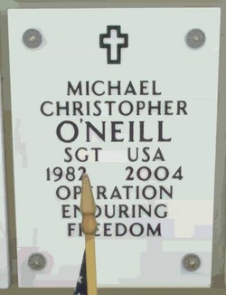 Sgt Michael Christopher O'Neill