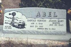 Darold Vernon Abel