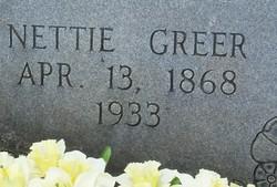 Susan Nettie <i>Painter</i> Greer