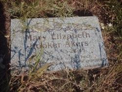 Mary Elizabeth <i>Hooker</i> Akers