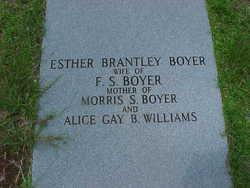 Esther <i>Brantley</i> Boyer