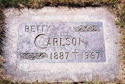 Betty <i>Erickson</i> Carlson
