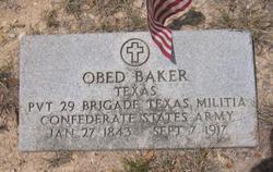 Obed Baker