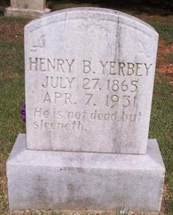 Henry Britton Yerbey