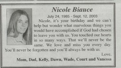 Nicole Danielle Biauce