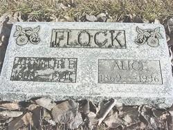 Sarah Alice <i>Burks</i> Flock