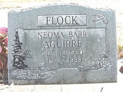 Neoma Barr <i>Aguirre</i> Flock