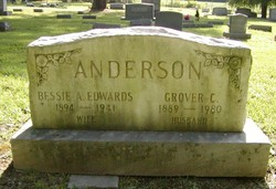 Bessie A <i>Edwards</i> Anderson