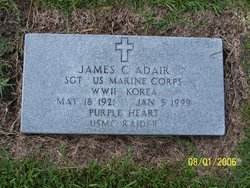 Sgt James C Adair