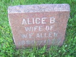 Alice Belle <i>Simmons</i> Allen