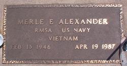 Merle E Alexander