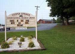 Cooper Springs Congregational Holiness Church Ceme