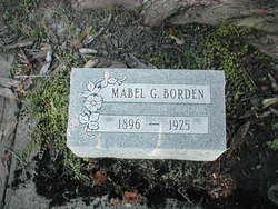 Mabel G. <i>Curry</i> Borden